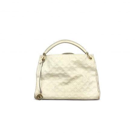 authentic second hand empriente louis vuitton bag