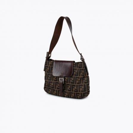 fendu zucca shoulder bag vintage