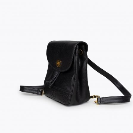 chanel caviar vintage backpack