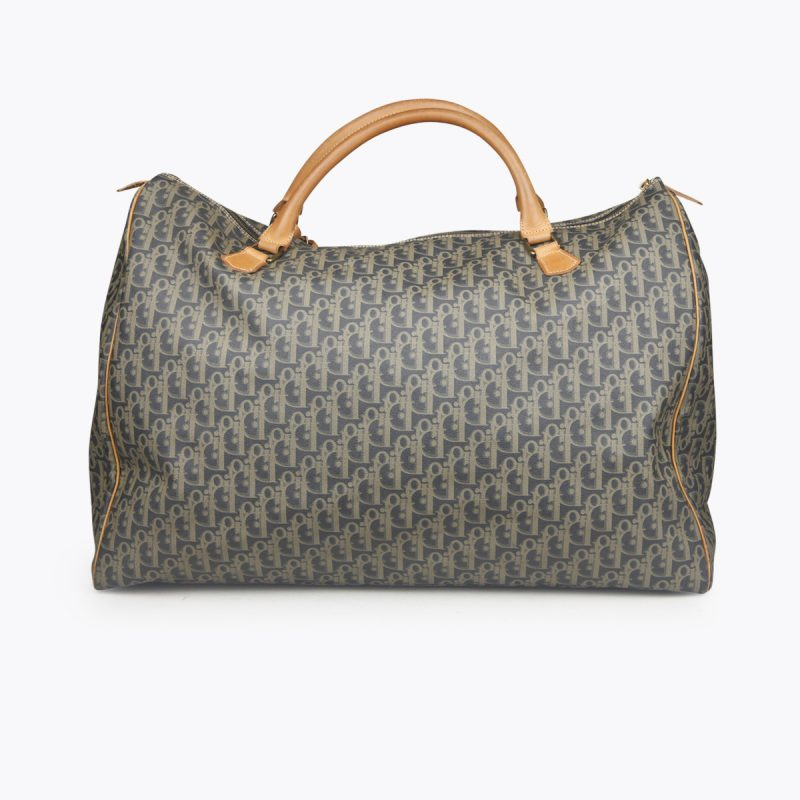 Brown and multicolor canvas CHRISTIAN DIOR Diorissimo Weekend Bag