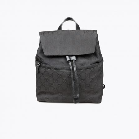 Black GG canvas Small GUCCI backpack